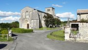 A Romanesque church located in Saint Preuil, a village in the heart of the Grande Champagne, the heart of the Cognac vineyard