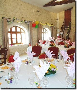 Le Chai, reception room in Charente for wedding party, family gathering, seminars, company meeting